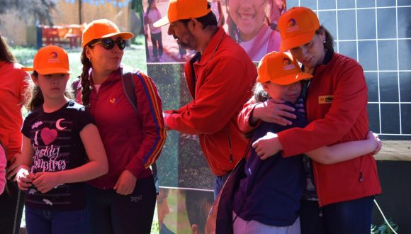 Programa Vínculo de Caserta recibe a familias de Peñalolén