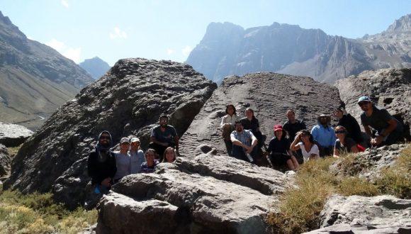 Fundación Caserta y Reserva Elemental Likandes recorren el Geoparque Cajón del Maipo