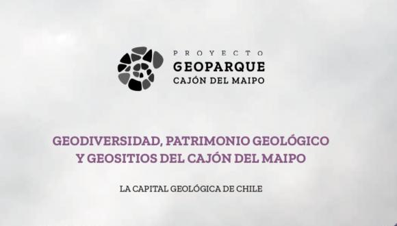 Geoparque Cajón del Maipo